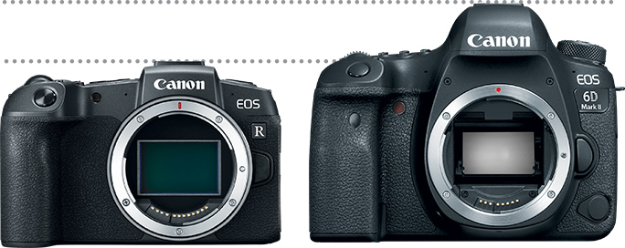 EOS RP and EOS 6D MARK II