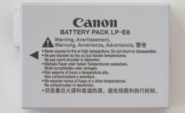 LP-E8 BATTERY FRONT