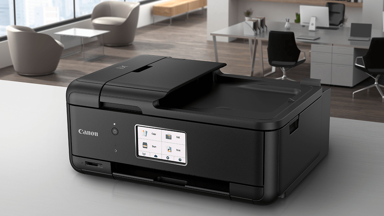 Canon pixma tr8520 imprimante pour petit bureau et bureau à domicile